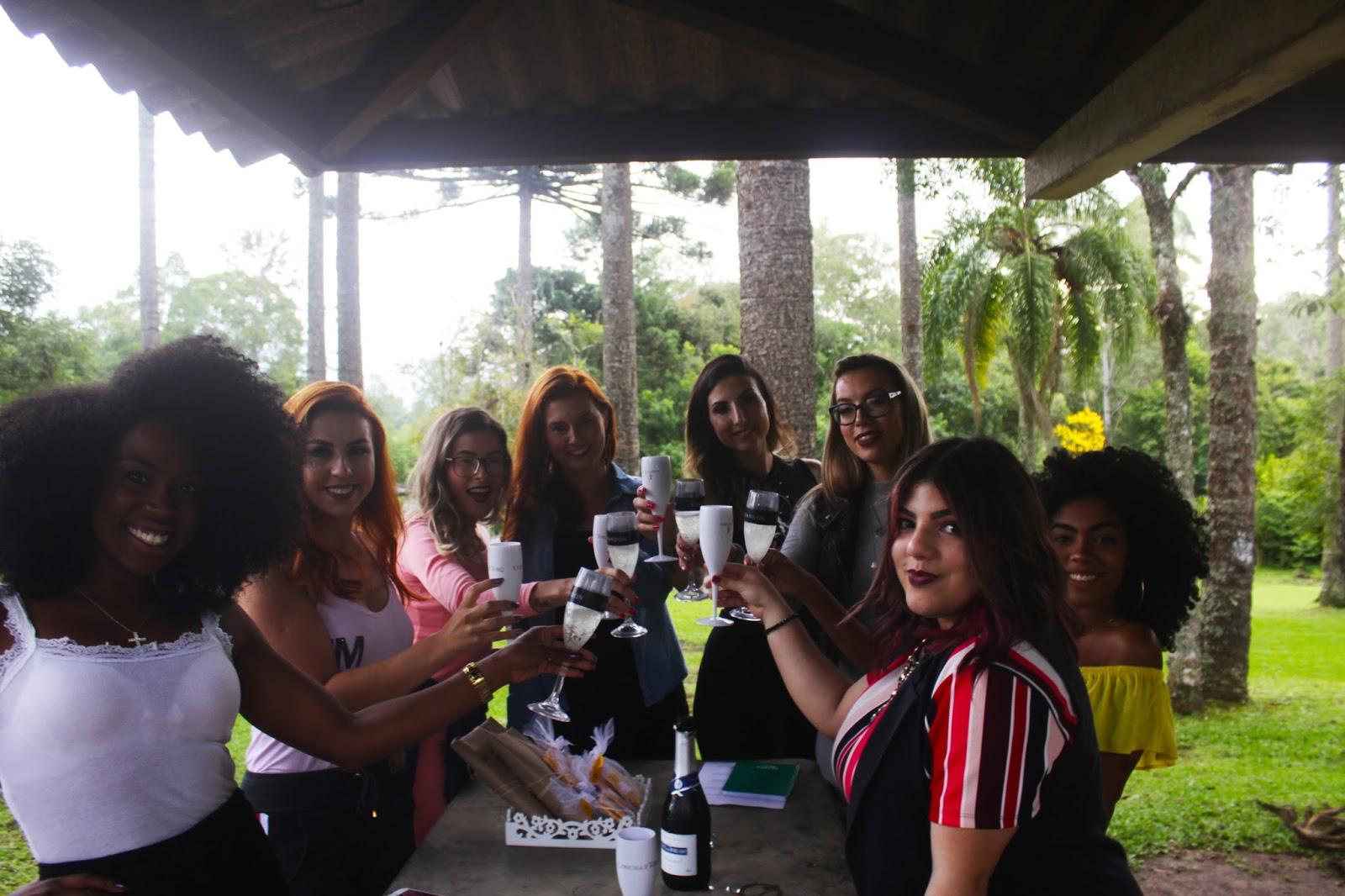 Chá das Blogguers, 1º encontro