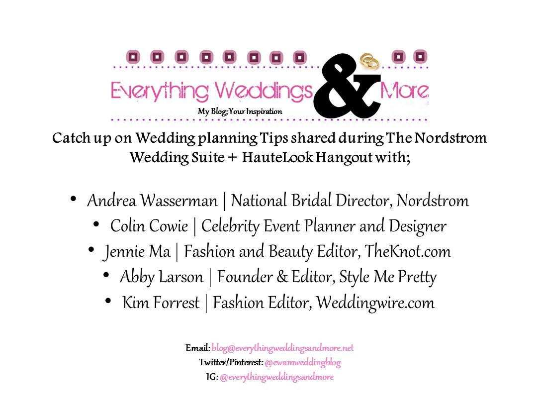 Wedding Planning Tips: The Nordstrom Wedding Suite + HauteLook ...