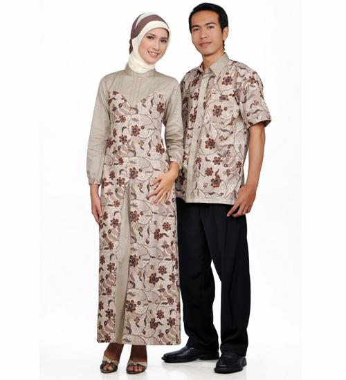 model baju batik sarimbit untuk pesta