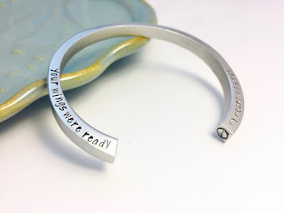 Beautiful custom memorial bracelet