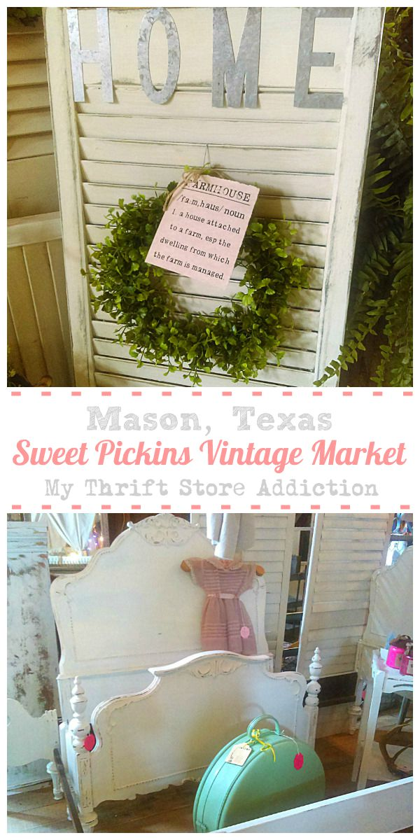 Sweet Pickins Vintage Market Mason, Texas