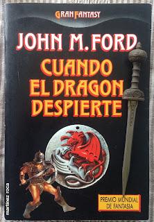 Portada del libro Cuando el dragón despierte, de John M. Ford