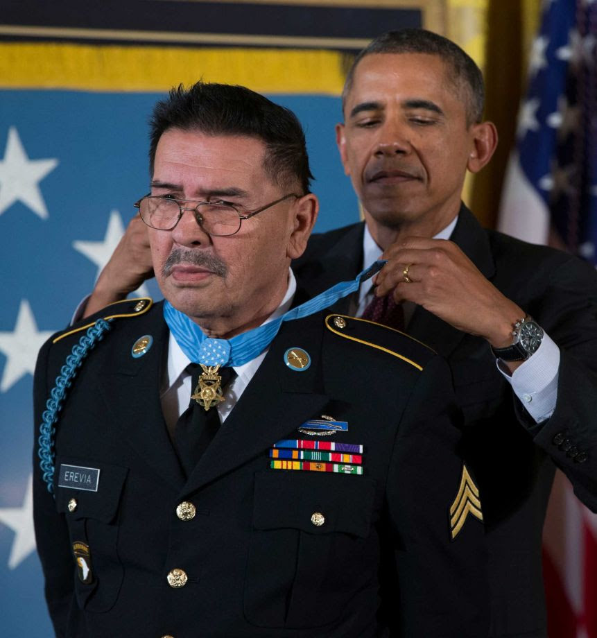 Medal of Honor Recipient Santiago J. Erevia, Hero of the ...