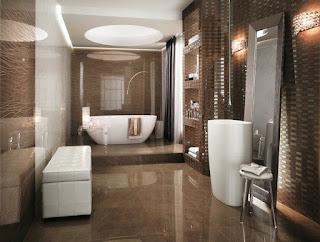 baño de lujo elegante