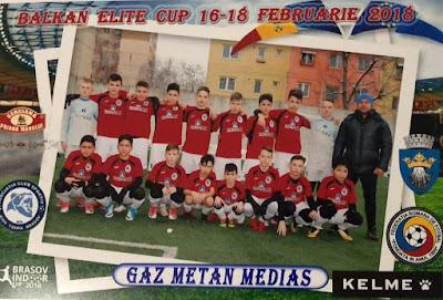 Foto: Juniorii Gazului, vicecampioni in Romania
