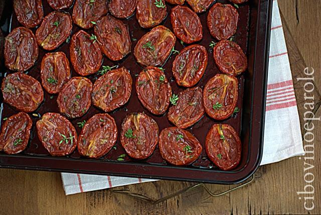 Pomodorini arrosto ricetta