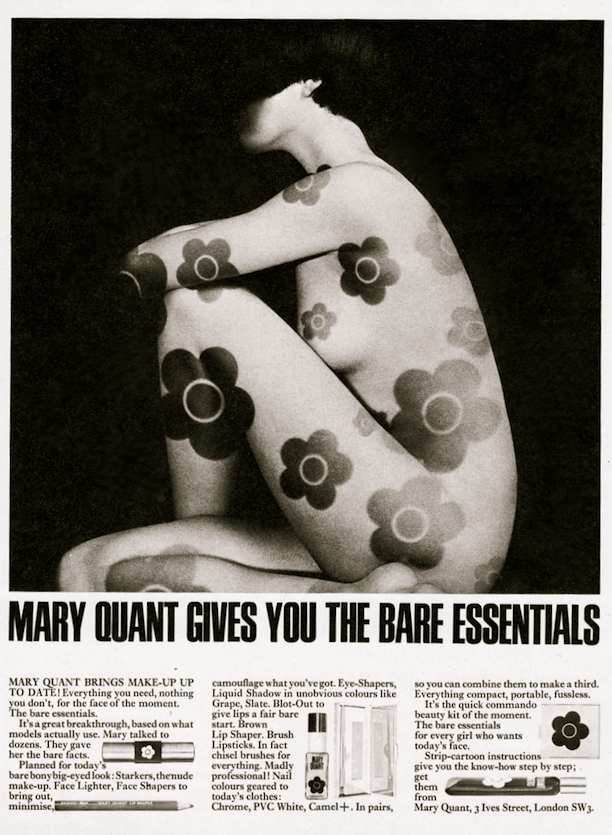 1960s Mary Quant Make-Up Advert