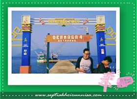 Tiba di Dermaga Ketapang, Lampung Selatan