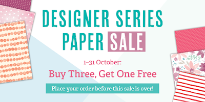 Designer Series Paper Sale - Buy 3 get 1 FREE - Simply Stamping with Narelle - available here - http://www3.stampinup.com/ECWeb/ItemList.aspx?categoryid=30400&dbwsdemoid=4008228