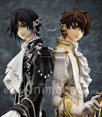 Figura CLAMP works in Lelouch & Suzaku G.E.M. Limited Edition CODE GEASS Lelouch of the Rebellion R