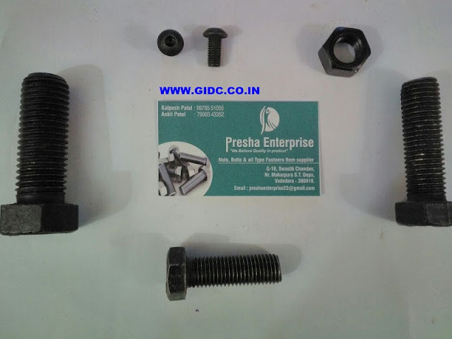 PRESHA ENTERPRISE HI TENSION BOLT VADODARA 9978551055