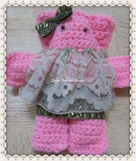 amigurumi, teddy bear crochet pattern