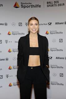 Lena Gercke At Ball Des Sports, Wiesbaden