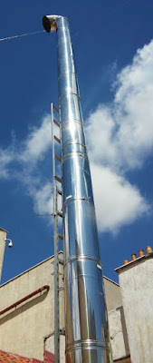 alargar o prolongar altura tubos