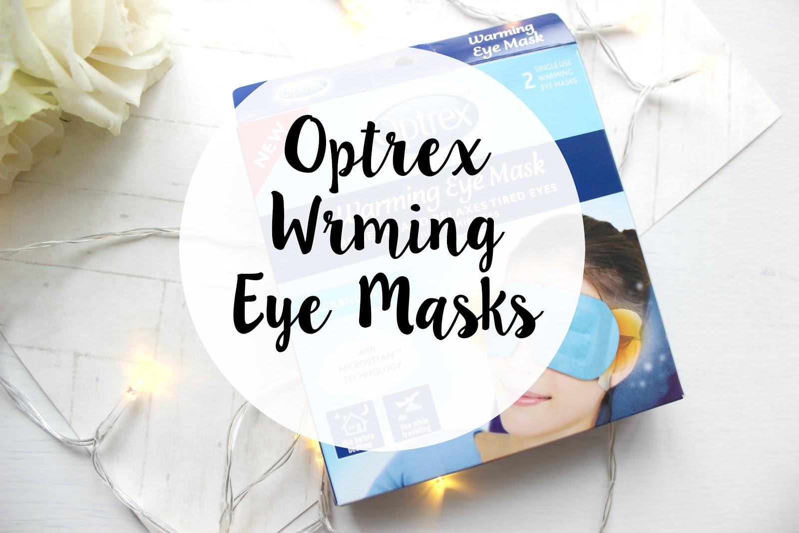Optrex Warming Eye Masks , eye masks, optrex, warming mask, eyes, travel
