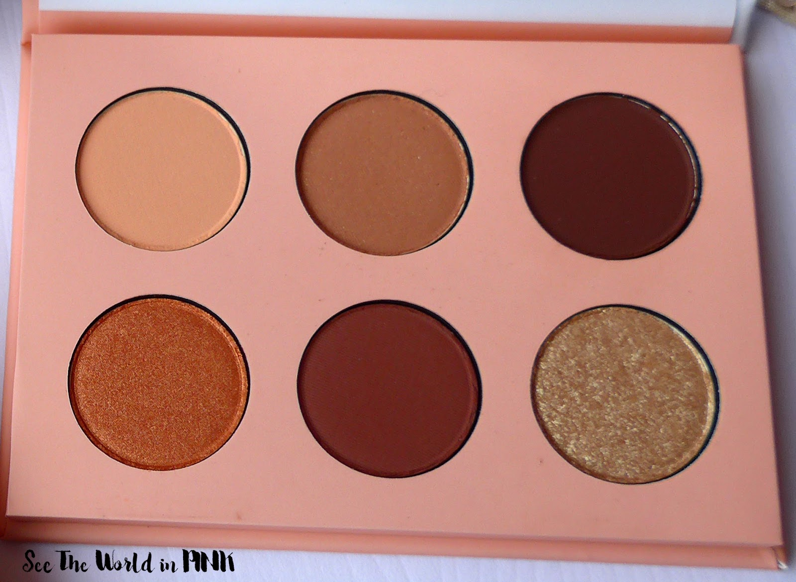 ColourPop Take Me Home Pressed Powder Shadow Palette - Review, Swatches and Makeup Look!