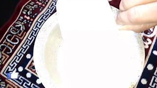 image of adding suji in bowl