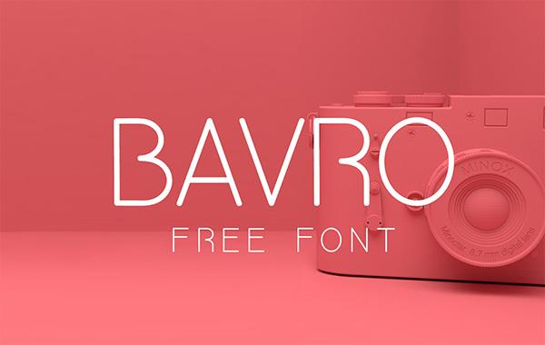 Download Gratis Font Terbaru September 2015 - Bavro Free