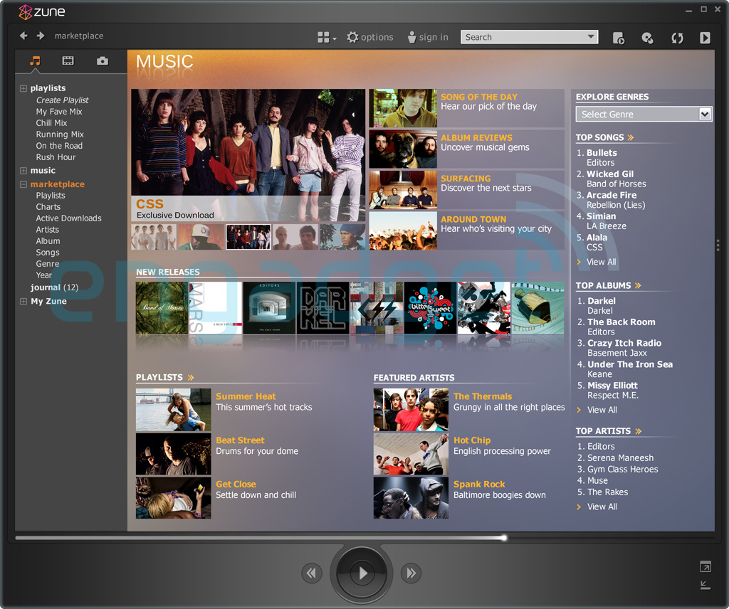 download zune software for windows 8 mobile