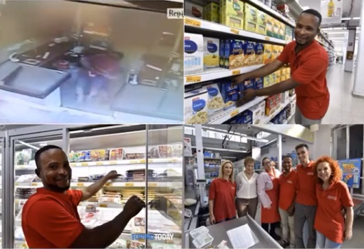 Nigerian Offered A Job After Preventing Robbery In Italy (Photos)