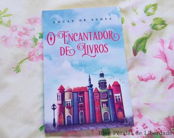 Resenha, livro, O-encantador-de-livros, Lucas-de-Souza, Ler-Editorial, capa,