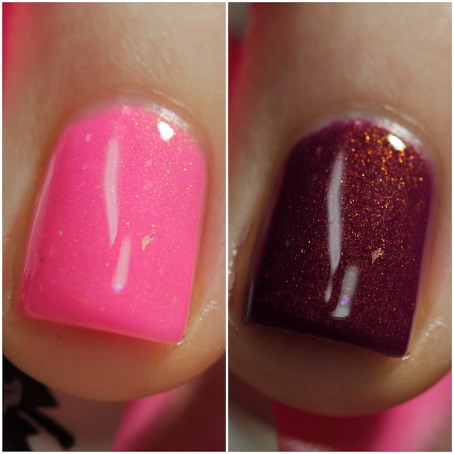 Heather's Hues Corona swatch by Streets Ahead Style