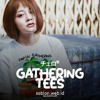 Sablon Kaos Gathering untuk Kebersamaan Antar Karyawan atau Keluarga