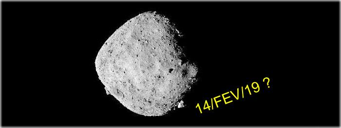 asteroide bennu será visível hoje 14 de fevereiro - verdade ou mentira
