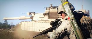 arma3 rhs: escalation modのアメリカ軍兵士