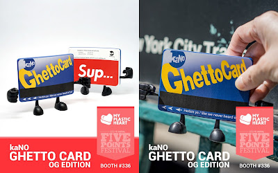 Five Points Festival 2018 Exclusive OG Ghetto Card Vinyl Figure by kaNO x myplasticheart