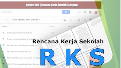 Contoh Format Rencana Kerja Sekolah / RKS SMP 2017 Terbaru