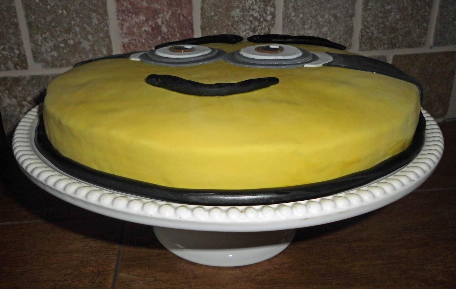 Zocha Naht Minion Fondant Kuchen Zum Geburtstag