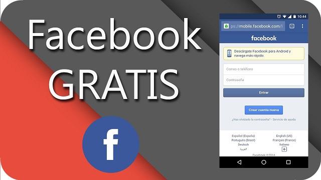 Cómo tener Facebook gratis desde tu android