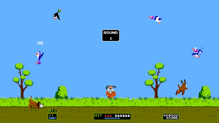 Duck Hunt y Hogan's Alley son registrados por Nintendo