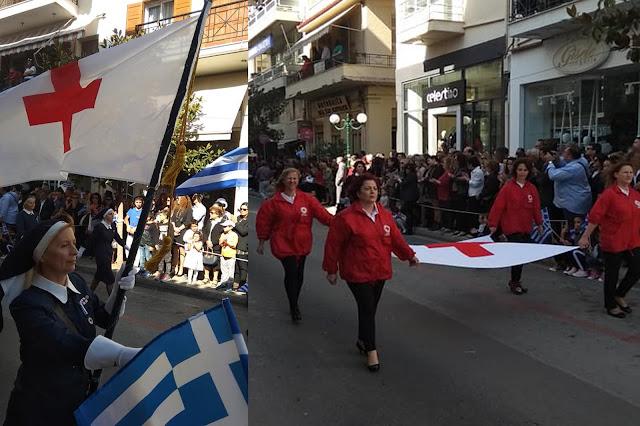Ο Ελληνικός Ερυθρός Σταυρός Άργους τίμησε τους Ήρωες του ΄40