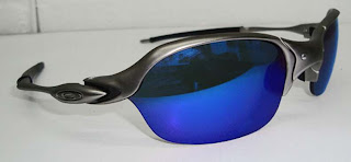 1190b2839 Mega Óculos: OCULOS OAKLEY ROMEO 2 - PLATINA MAGIC BLUE