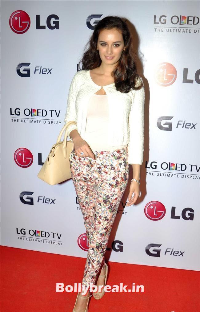Evelyn Sharma, Celebs at LG G Flex Smartphone Launch