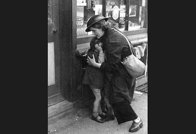18 October 1940 worldwartwo.filminspector.com Air Raid Warden protect children