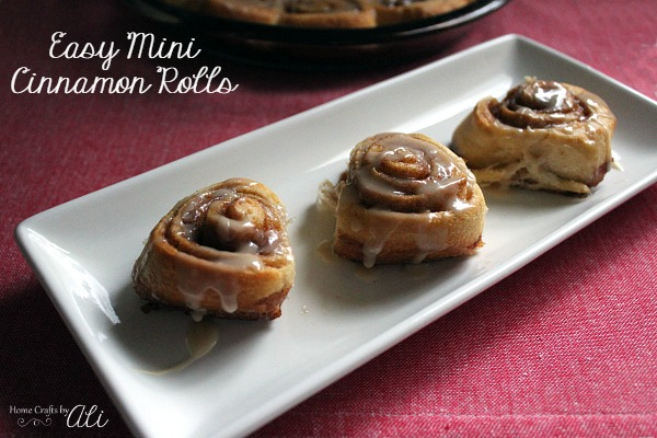 easy mini cinnamon roll recipe