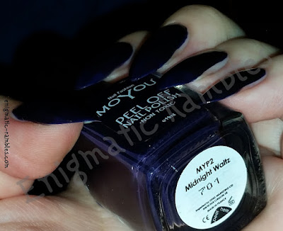 Review-Swatch-MoYou-Peel-Off-Polish-Midnight-Waltz
