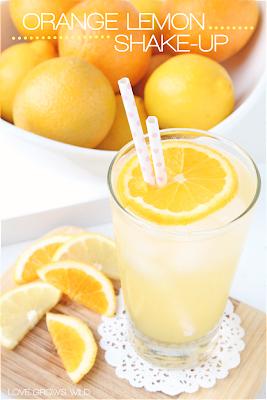 Orange Lemon Shake-ups