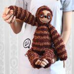 http://www.craftpassion.com/sloth-amigurumi/2/