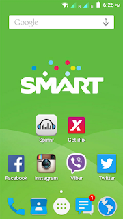 Starmobile Home Screen