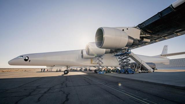 Dünya'nın en büyük uçağı; Stratolaunch ve motorları...