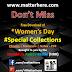 Special: Happy Women's Day - PDF Free Downloads by www.matterhere.com