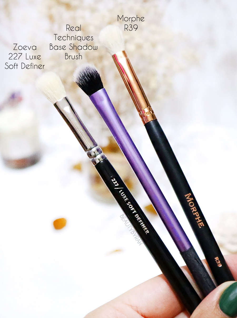 Top affordable eyeshadow brushes beginners - Zoeva 227 Morphe R39 RT Base Shadow Brush