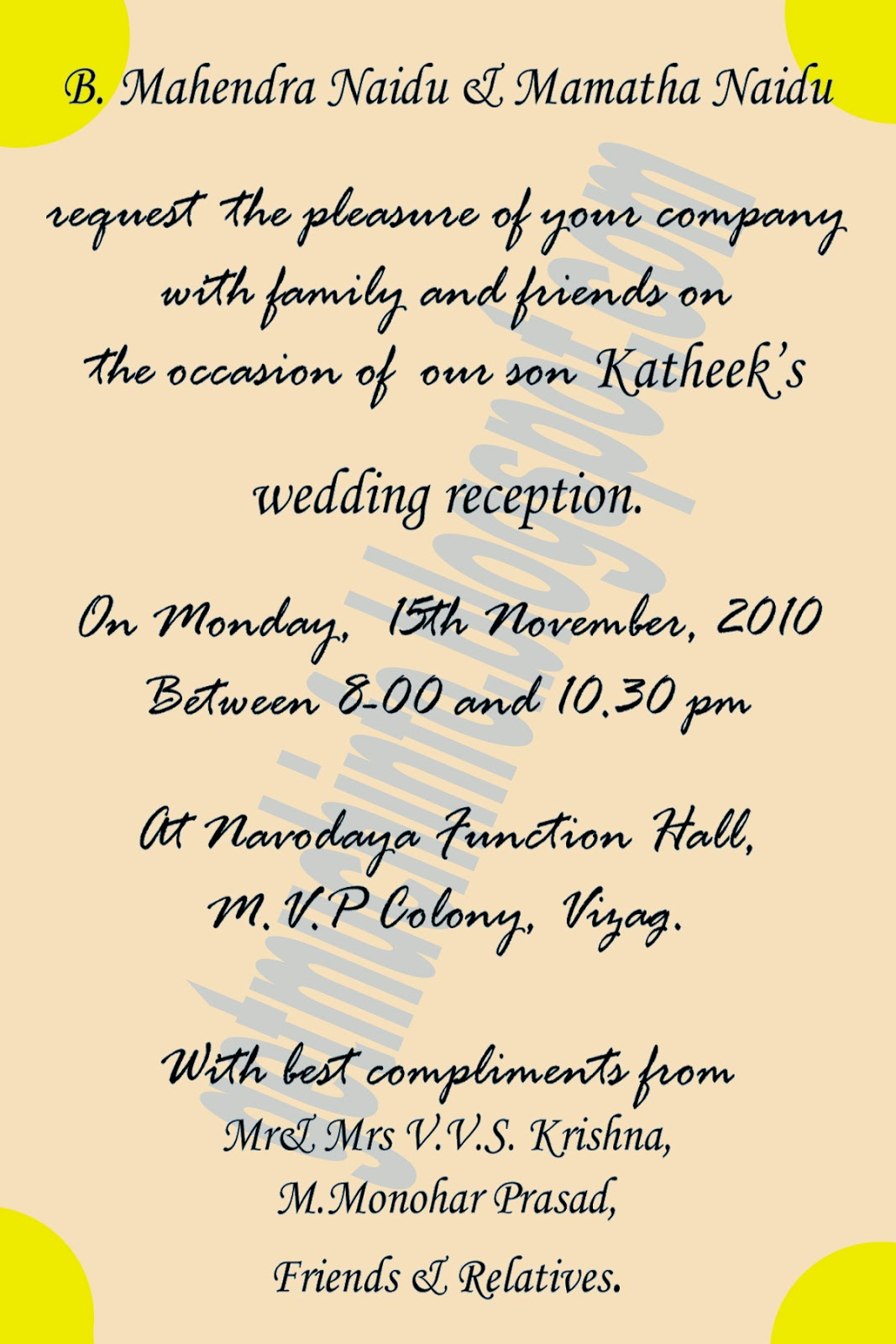 Get Much Information Indian Hindu Marriage Invitation