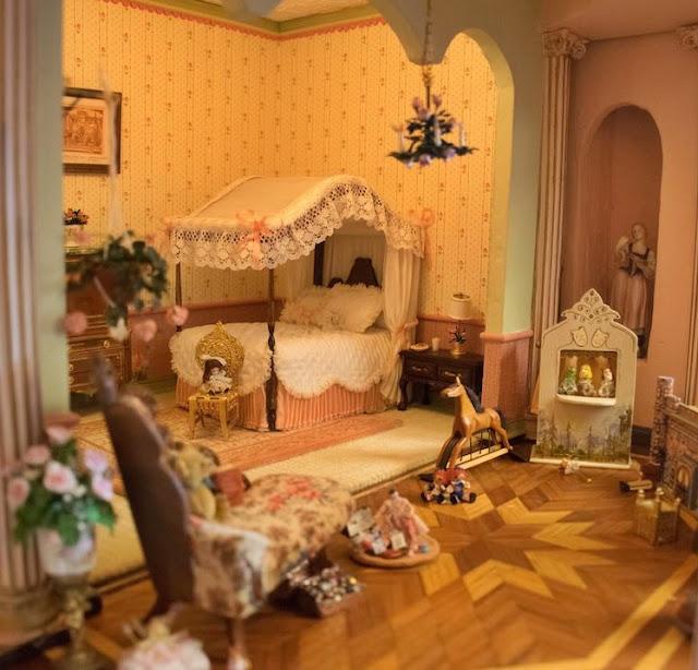 miniaturowy zamek