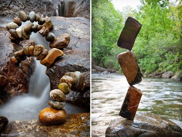 balanced rock sculptures by Michael Grab1