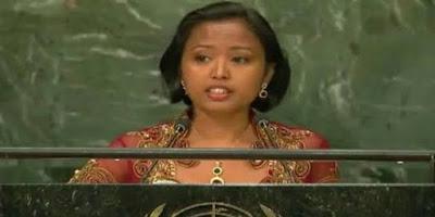 Pidato TKW Indonesia Eni Lestari di KTT PBB